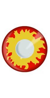 Flame Eye Contact Lenses