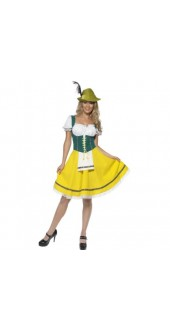 Ladies Oktoberfest Fancy Dress Costume