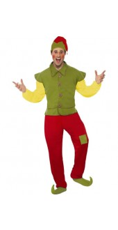 Mens Elf Christmas Costume