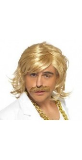 Keith Lemon Fancy Dress Wig And Tash