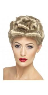 Ladies 1940s Fancy Dress Wig