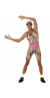 90s Mr Energiser Fancy Dress Costume