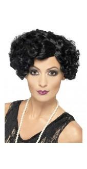 Ladies 1920s Fancy Dress Flapper Wig