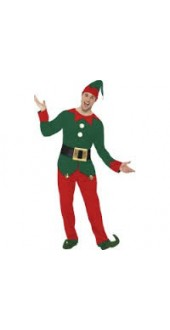 Economy Elf Fancy Dress Costume
