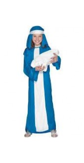 Girls Mary Costume Smiffys