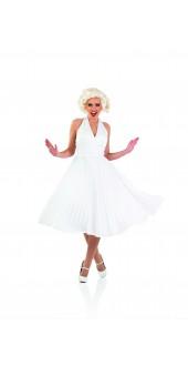 Ladies 50s Marilyn Fancy Dress Costume