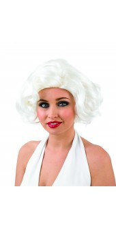 Ladies 50s Film Star Fancy Dress Wig