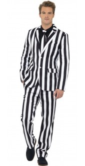 Mens Humbug Stand Out Fancy Dress Suit
