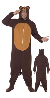 Mens Monkey Fancy Dress Costume